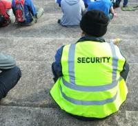 Security - photo by Wayne Tamhas Mac a'Ghobhainn