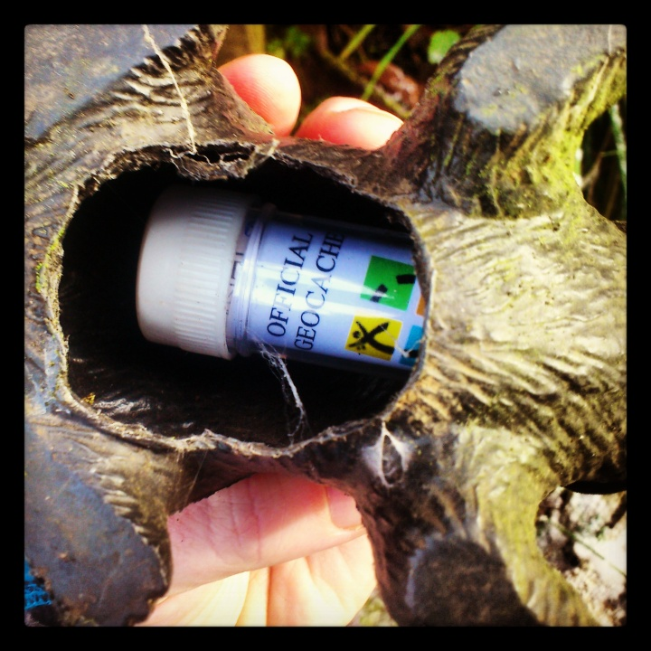 My first ever geocaching find!