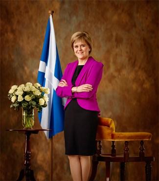 Nicola Sturgeon. First Minister of Scotland